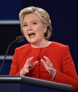 Democratic nominee Hillary Clinton (Getty Images)