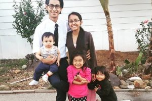The Flores family lost their 5-year-old daughter when fire swept through their mobile home early Thursday.