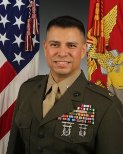 Lt. Col. Michael Hernandez was relieved of duty due to a loss of trust and confidence in his leadership ability, the Marines announced.
