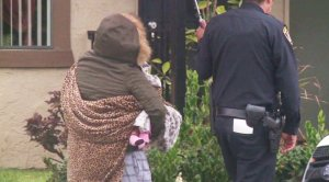 A mother was reunited with her baby after a 7-hour standoff in San Ysidro on Feb. 19, 2017.