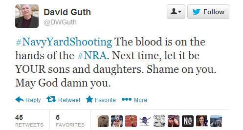 David Guth tweet