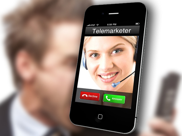 telemarketer graphic