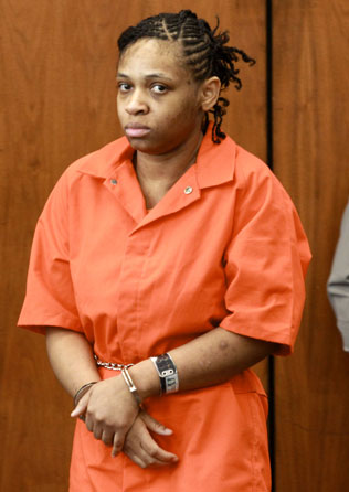 Jacole Prince in court Tuesday, Jan. 7, 2014.