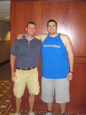 Luke Cox weight loss