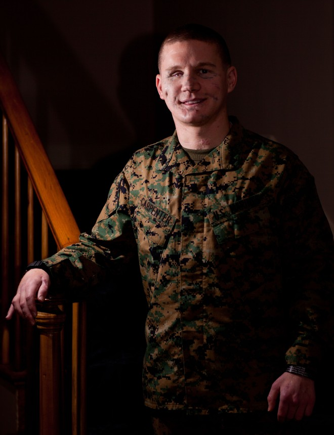 "Former Marine Cpl. William ""Kyle"" Carpenter -- MOH Recipient"