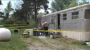 Investigators collected evidence from a Sedalia trailer after a woman's remains were found in two separate locations at the Goodwill Chapel Trailer Park, 26000block of Goodwill Chapel Rd.