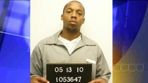 Anthony C. Harris Jr.'s mug shot from the Missouri Department of Corrections for a previous conviction.