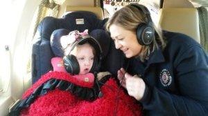 Janea Cox and her daughter, Haleigh, fly to Colorado Springs, Colorado. Credit:Courtesy Jenea Cox