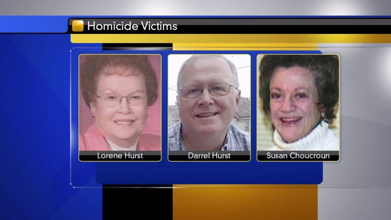 Lorene Hurst, Darrel Hurst and Susan Choucroun were killed on Tuesday by a gunman in So. KC.