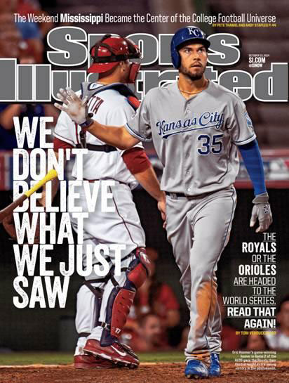 Hosmer Sports Illustrated