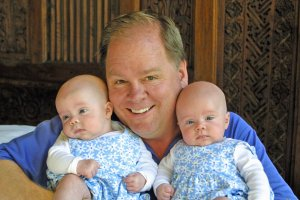 Hugh Hempel became a father to twin girls in 2004. Nearly two years later, the twins started to get sick.