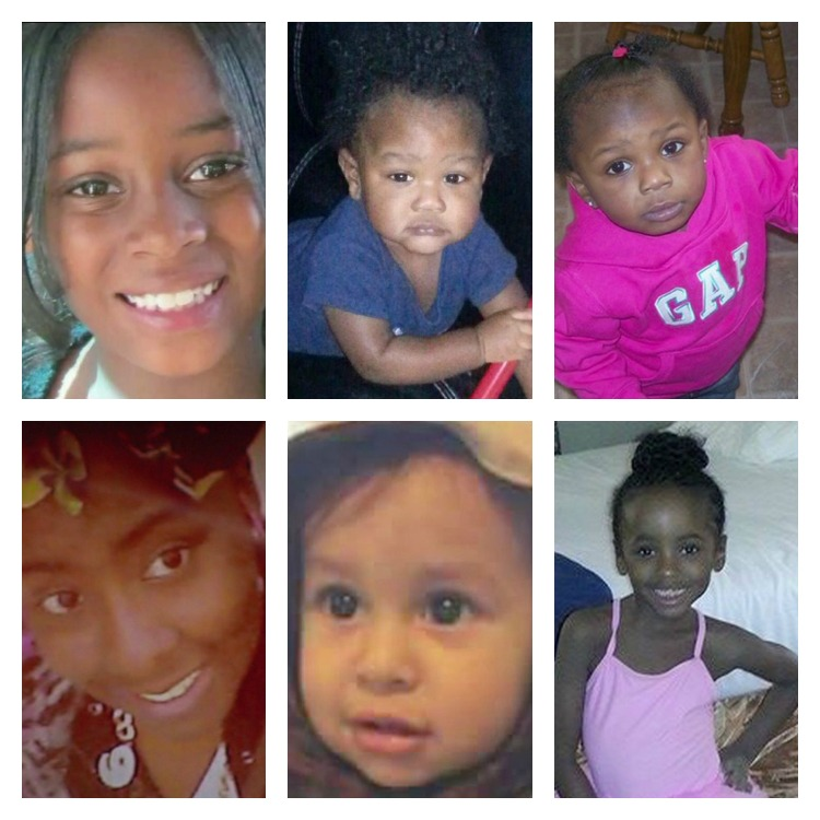Six of the recent children killed in the KC-area.