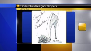 Jimmy Choo's glass slipper design