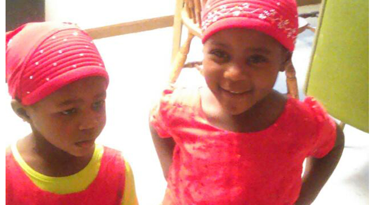 Courtesy: family  Calia Elia (left) died in an apparent fire. Her 3-yr-old older sister, Elena, suffered burns.