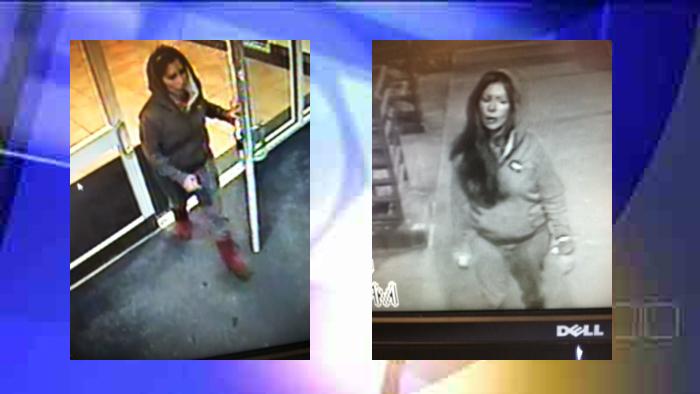 Janina Vasquez was seen on surveillance leaving the Isle of Capri Casino on February 12, 2015.