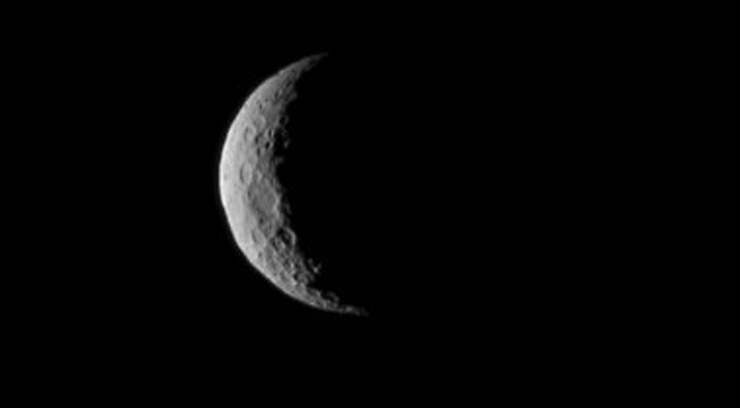 NASA's tractor-trailer-sized Dawn spacecraft is now in orbit around Ceres, becoming the first probe to orbit a dwarf planet. (photo courtesy of CNN)