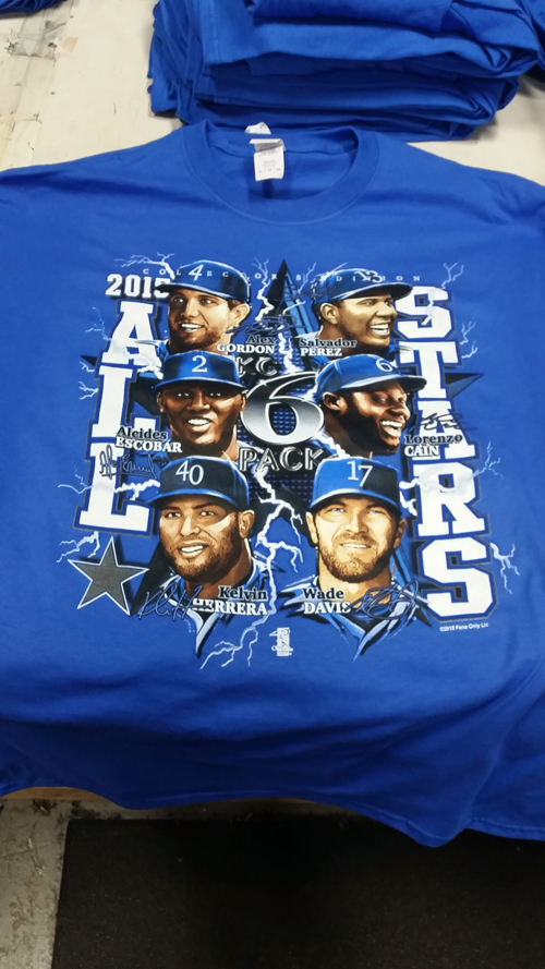 Six pack of Royals All Stars