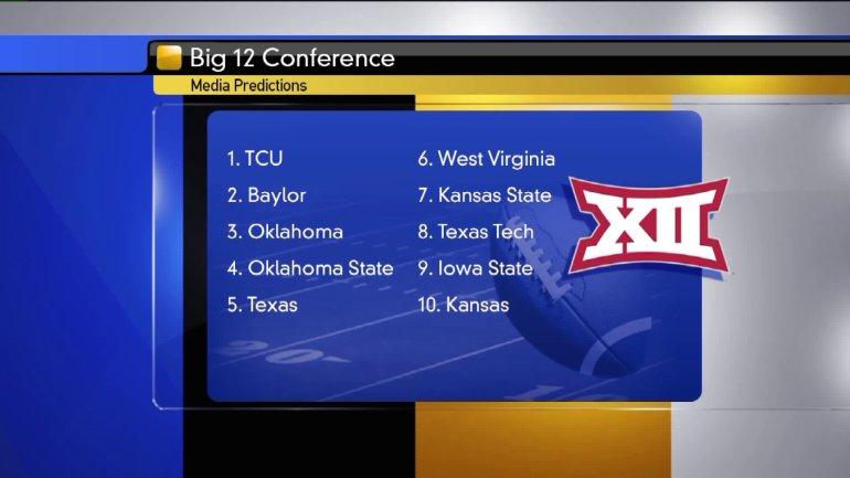 Big 12 Conference predictions