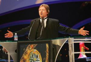 """""""Rowdy"""" Roddy Piper, 2005 WWE Hall of Fame inductee (Photo by J. Shearer/WireImage)"""