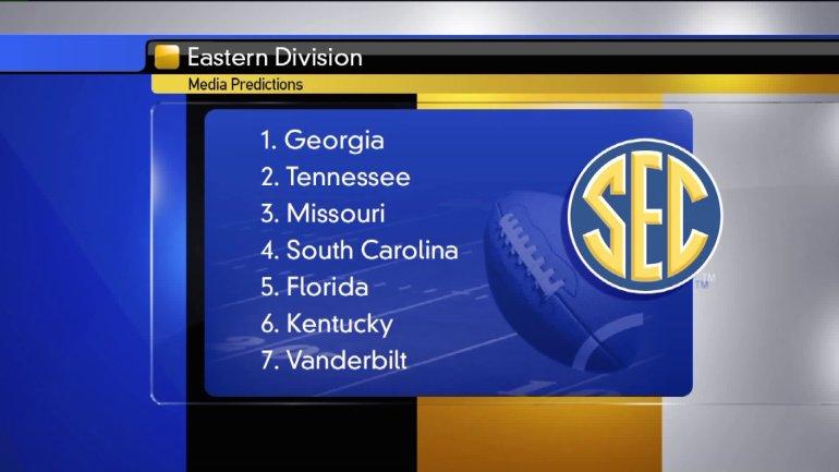 SEC Eastern Division predictions