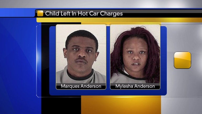 Mylesha Anderson, 24, and Marques Anderson, 23