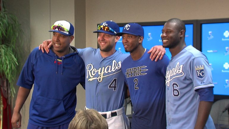 All-Star 2015 starters #VoteRoyals