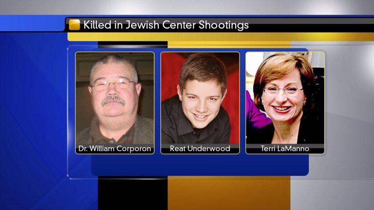 Jewish center shooting vicitms