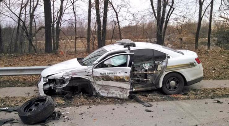 Photo courtesy of Clay County Sheriff's Deputy via Twitter.
