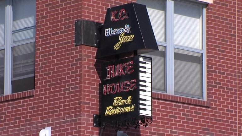 The Juke House Bar in the 18th and Vine District.