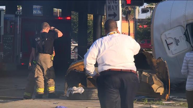 Houston, Texas Bus Crash