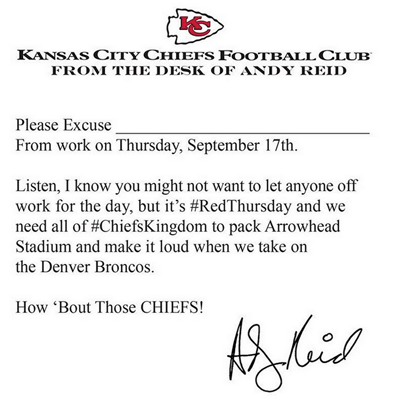 photo courtesy of KC Chiefs