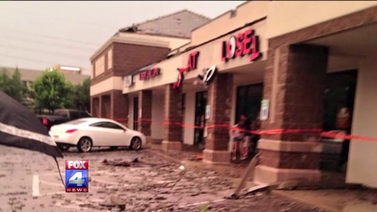 Three months ago a tornado ripped through Lee's Summit and destroyed inventory at Clothes Mentor.