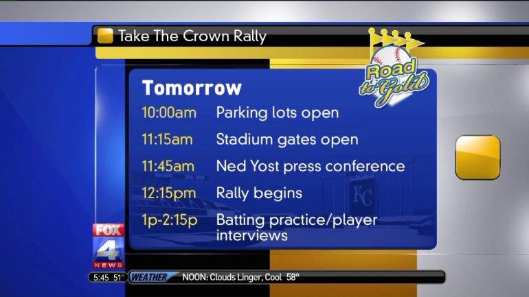 Take the Crown Rally