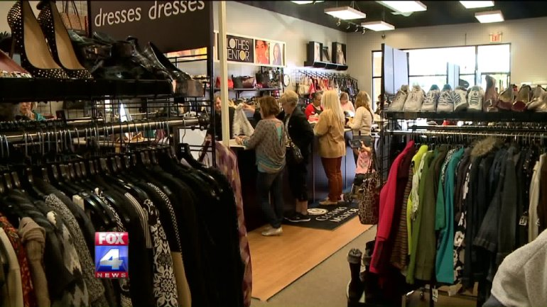 Clothes Mentor reopened Thursday after months of hard work.
