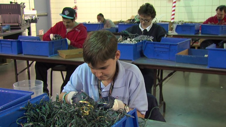 Southeast Enterprises provides income and employment for workers with disabilities.