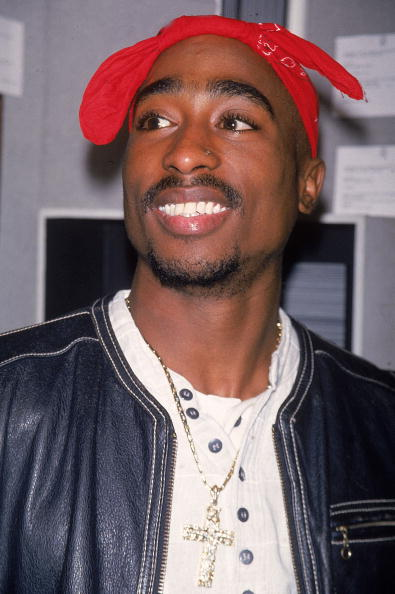 Rap artist Tupac Shakur.  (Photo by Time Life Pictures/DMI/The LIFE Picture Collection/Getty Images)