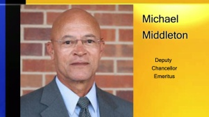 Michael Middleton, named interim chancellor of University of Missouri System.