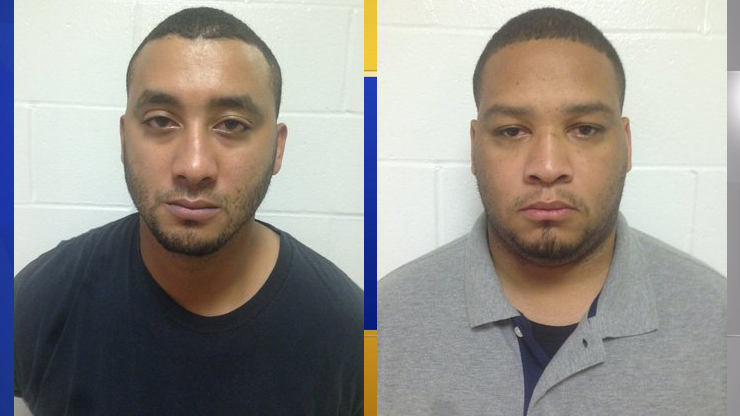Norris Greenhouse Jr. and Derrick Stafford are the two police officers arrested in the fatal shooting of a 6-year-old boy this week in Louisiana. (Photos: Louisiana State Police)