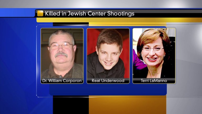 Victims of the Jewish Center shootings