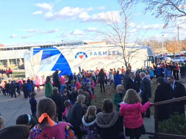 "Farmer Insurance's ""Thank America's Teachers"" program awarded St. Joseph Catholic School a $100,000 grant."
