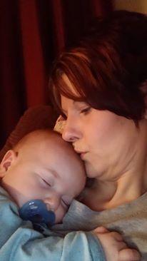 Heather Denham and her son, Mason
