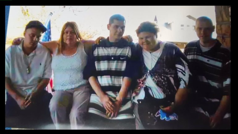 Family of Clint and Austin Harter.