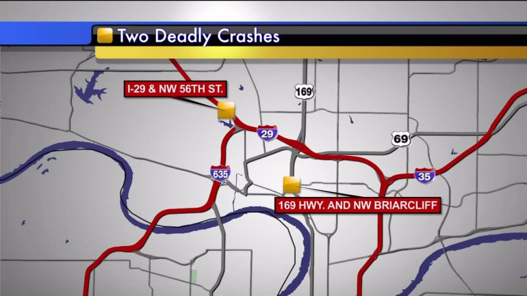 Two people are dead after two separate crashes in the northland Thursday morning.