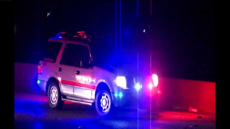 First responders were on the scene of a deadly wrong-way crash near near I-29 and 64th Street Thursday morning for nearly three hours.