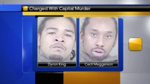Dyron King and Cecil Meggerson were charged with aggravated robbery and attempted first degree murder.