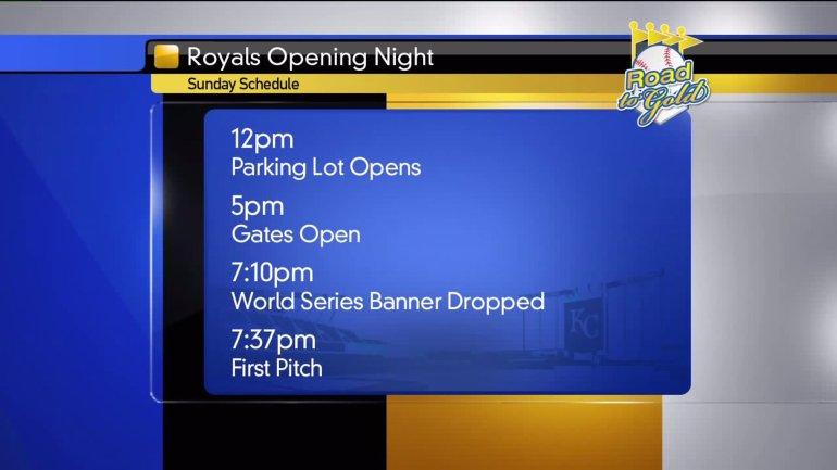 Royals' Opening Night