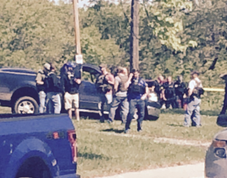 A police chase ended near 43rd and Jackson around 10:50 a.m., Wednesday.