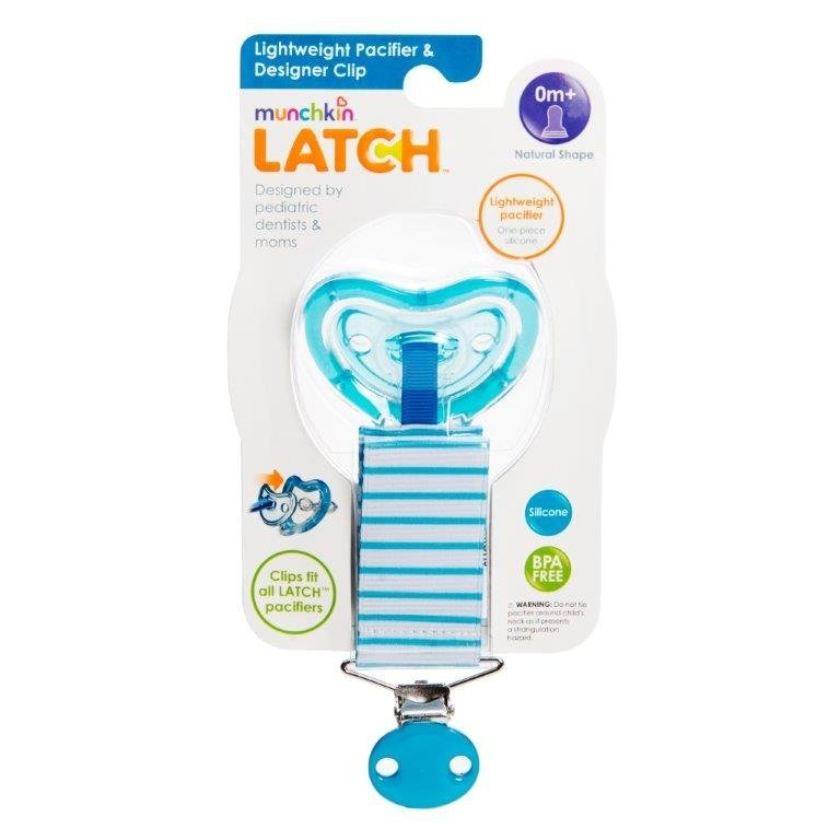 Munchkin is recalling about 180,000 of its LatchTM lightweight pacifiers because they pose a choking hazard.