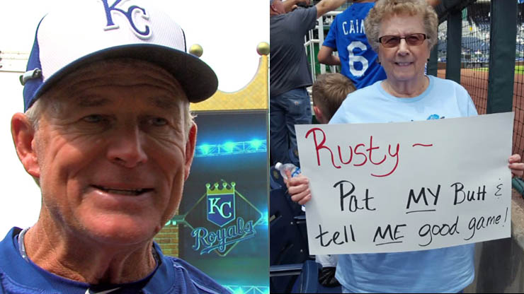Rusty and grandma
