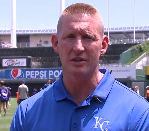 Nick Kenney, KC Royals Head Athlete Trainer
